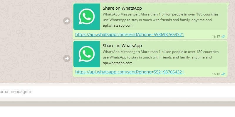 Como começar uma conversa no Whatsapp sem adicionar a pessoa aos