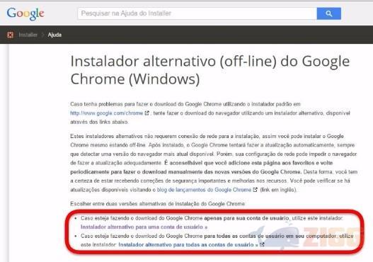 Como baixar o Google Chrome completo para PC | Zigg