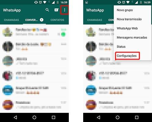 como fazer backup dos contatos do whatsapp no iphone