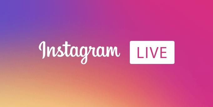 Transmissão ao vivo do Instagram