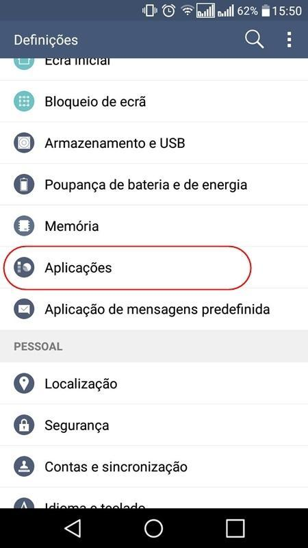 Como desativar as notificações