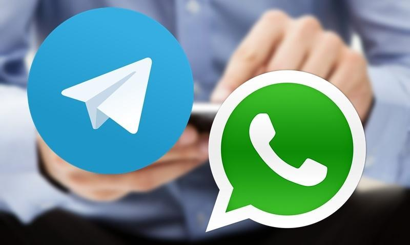 Telegram x WhatsApp