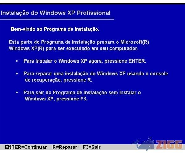 simulador de formatao do windows xp baixaki