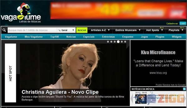be226895e2e O Vagalume é um dos maiores repositórios em língua portuguesa de letras  musicais disponível na rede.