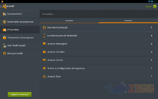 Avast! Mobile Security para Android