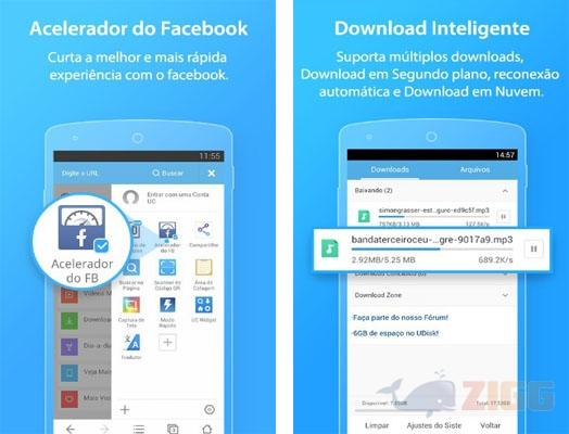 uc browser para android