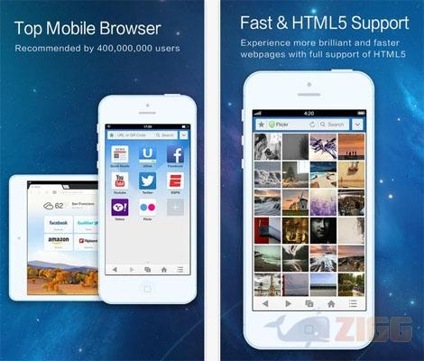 UC Browser para iphone