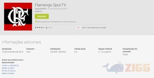 Flamengo SporTV no Google Play