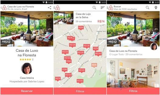 Airbnb para Android